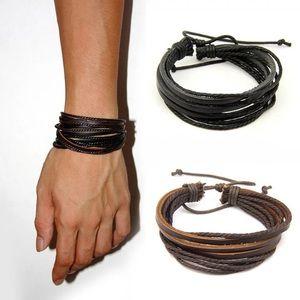 Other - Men's leather bracelet